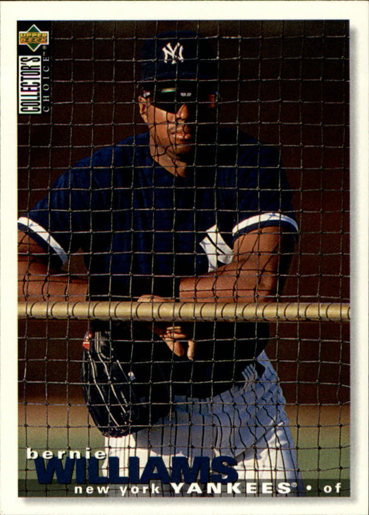 1995 Collector's Choice #517 Bernie Williams