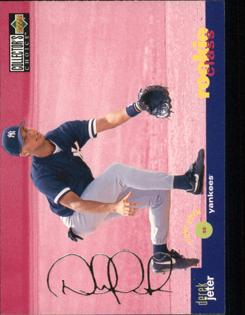 1995 Collector's Choice Silver Signature #15 Derek Jeter