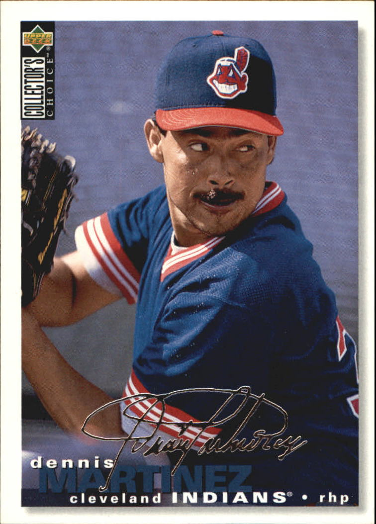 1995 Collector's Choice Silver Signature #274 Dennis Martinez