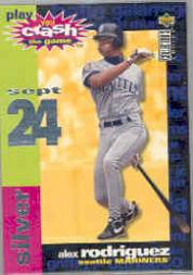 1995 Collector's Choice Crash the Game #CG17C Alex Rodriguez 9/24