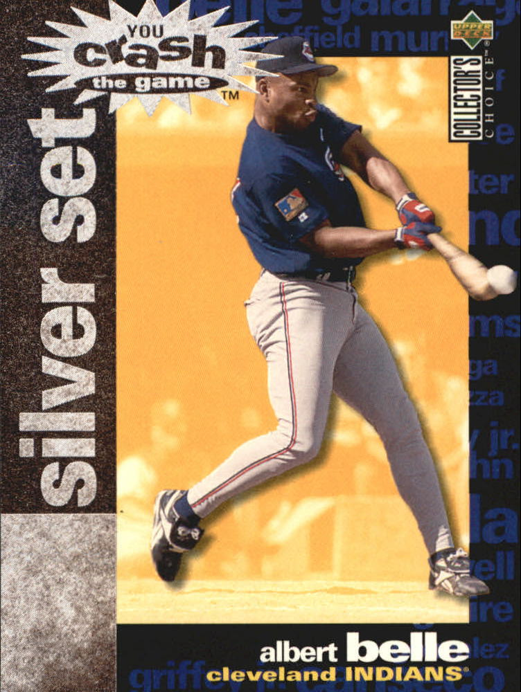 1995 Collector's Choice Crash the Game Exchange #2 Albert Belle