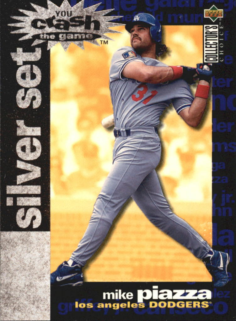 1995 Collector's Choice Crash the Game Exchange #15 Mike Piazza