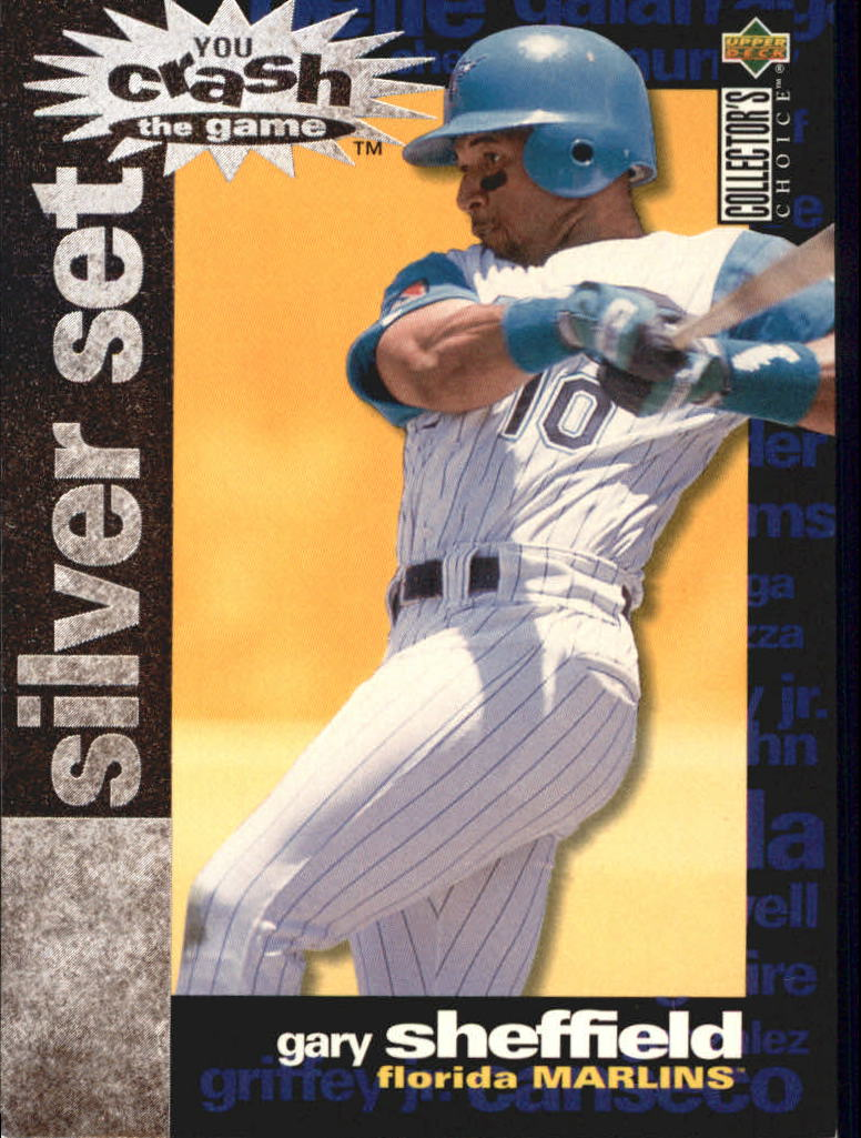 1995 Collector's Choice Crash the Game Exchange #18 Gary Sheffield