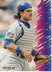 1995 Fleer All-Fleer #1 Mike Piazza