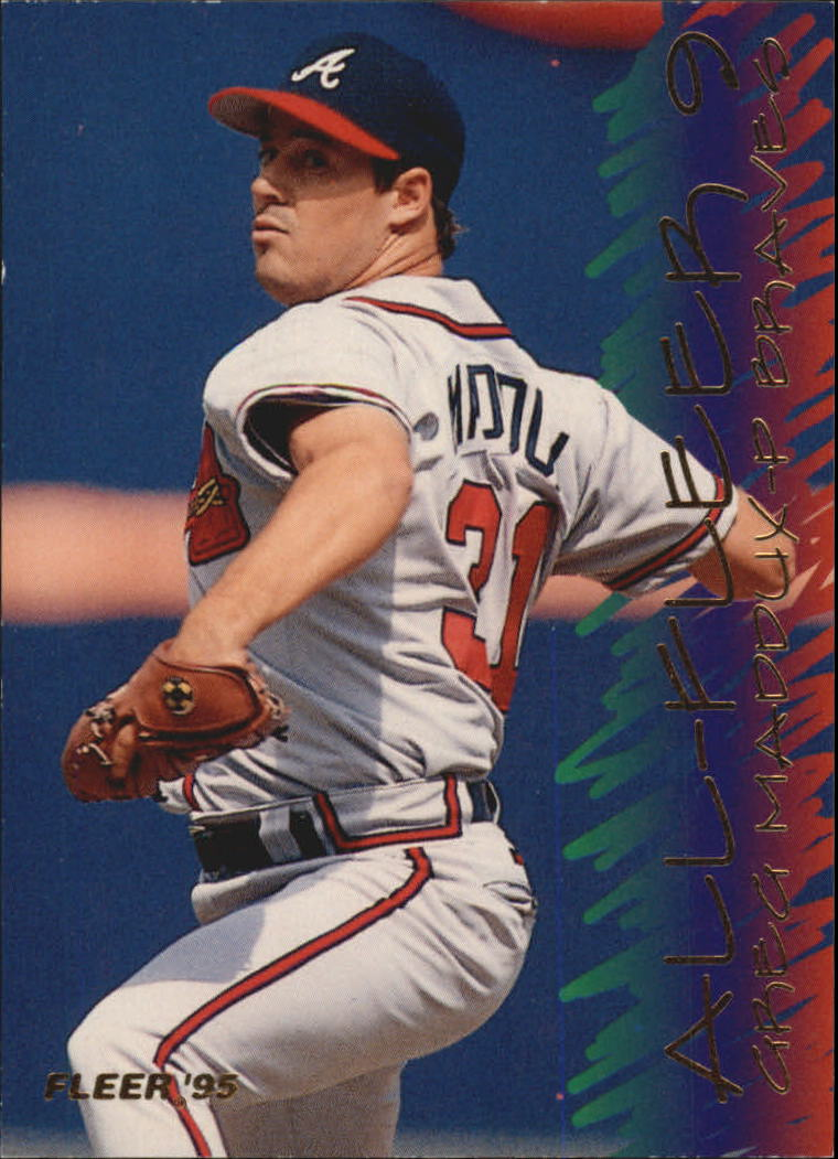 1995 Fleer All-Fleer #9 Greg Maddux
