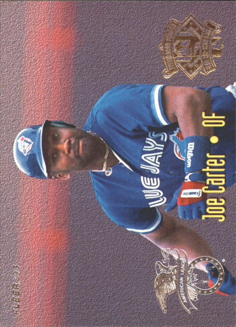 1995 Fleer All-Stars #6 B.Bonds/J.Carter
