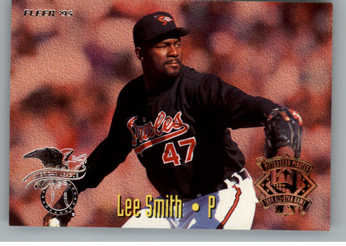 1995 Fleer All-Stars #24 L.Smith/R.Myers
