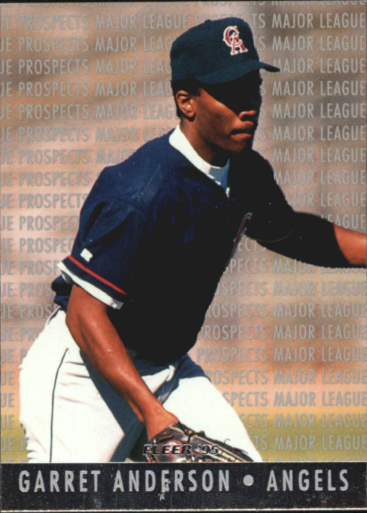1995 Fleer Major League Prospects #1 Garret Anderson