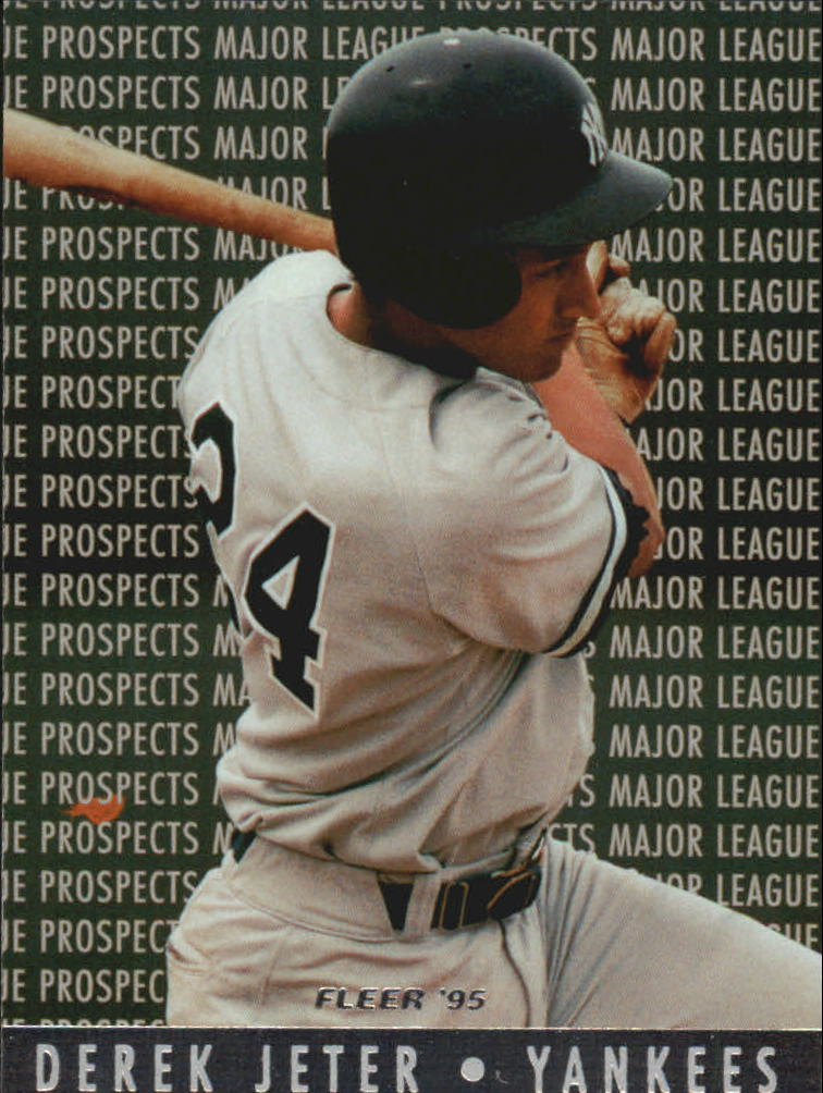 1995 Fleer Major League Prospects #7 Derek Jeter
