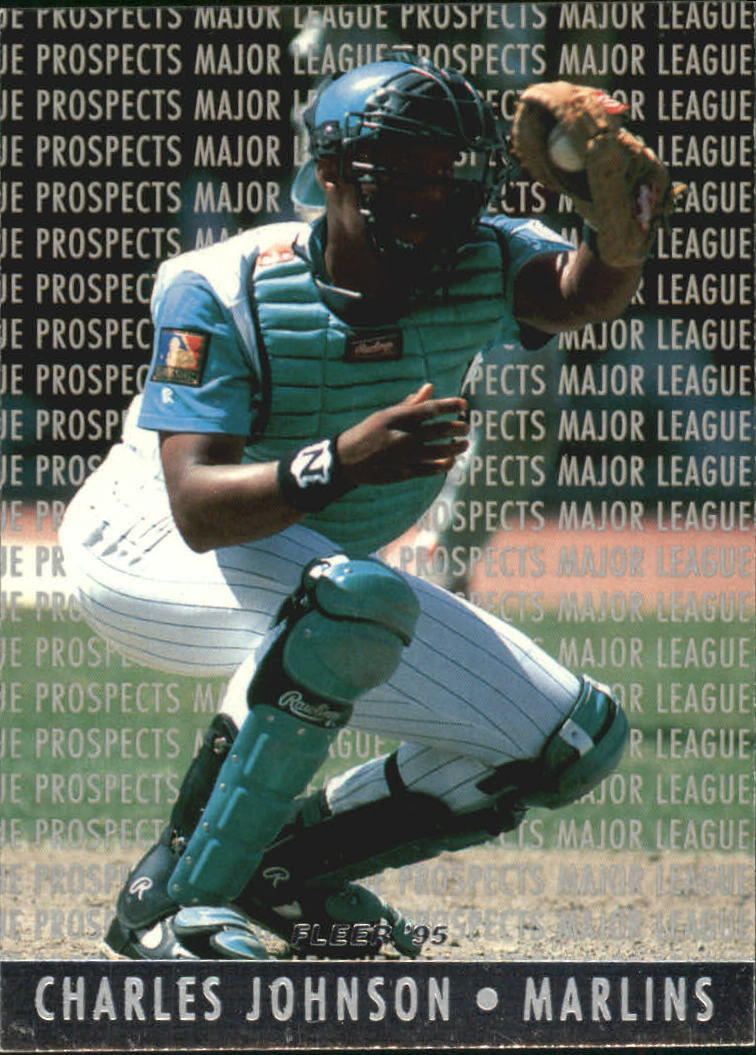 1995 Fleer Major League Prospects #8 Charles Johnson