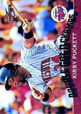 1995 Score Double Gold Champs #GC11 Kirby Puckett