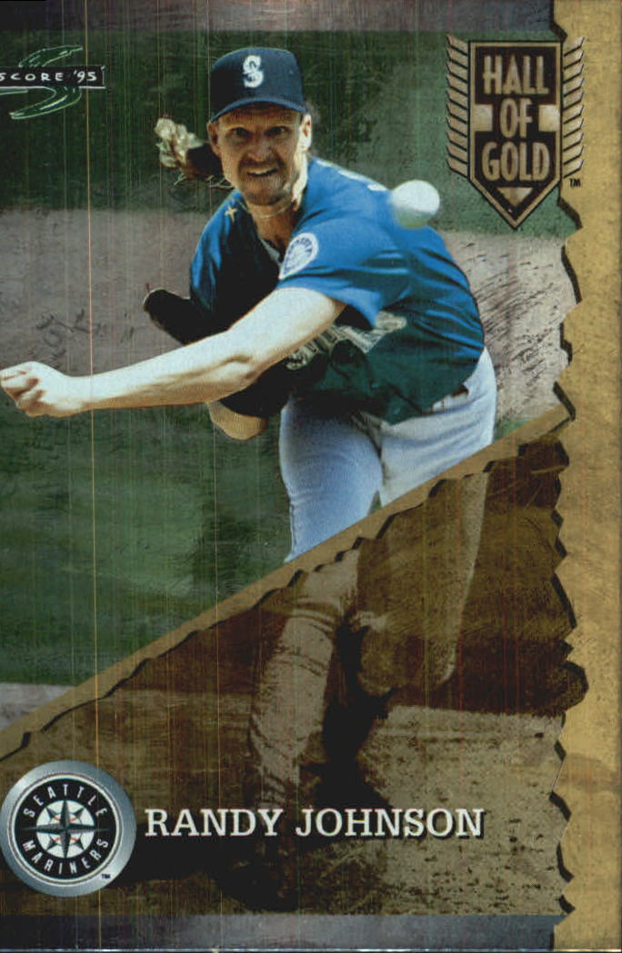 1995 Score Hall of Gold #HG7 Randy Johnson