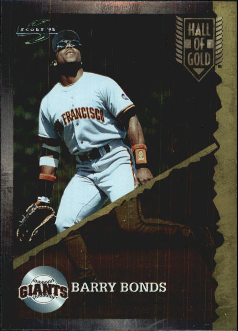 1995 Score Hall of Gold #HG16 Barry Bonds