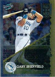 1995 Score Hall of Gold #HG61 Gary Sheffield