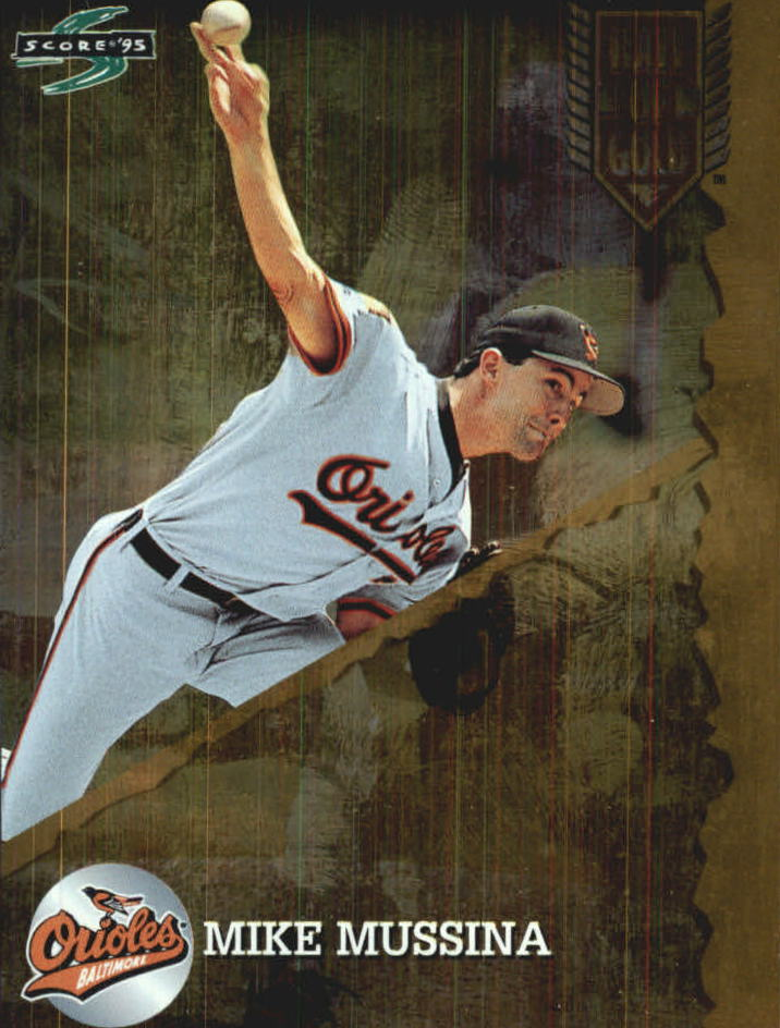 1995 Score Hall of Gold #HG85 Mike Mussina