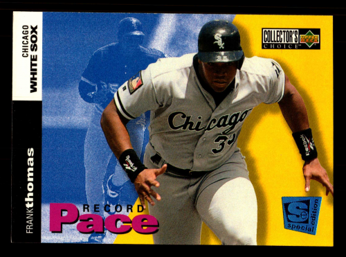 1995 Collector's Choice SE #29 Frank Thomas RP