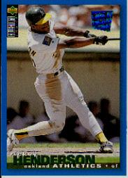 1995 Collector's Choice SE #48 Rickey Henderson