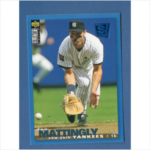 1995 Collector's Choice SE #240 Don Mattingly