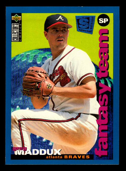 1995 Collector's Choice SE #249 Greg Maddux FT