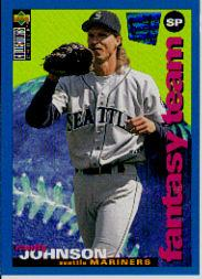 1995 Collector's Choice SE #250 Randy Johnson FT