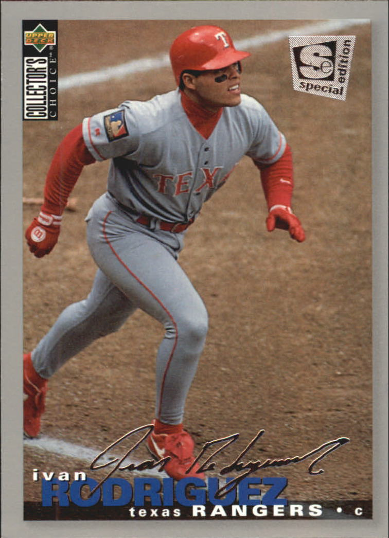 1995 Collector's Choice SE Silver Signature #188 Ivan Rodriguez