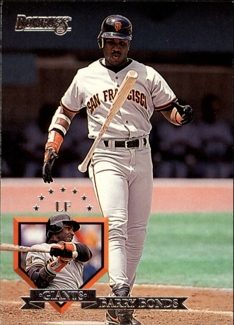 1995 Donruss #8 Barry Bonds