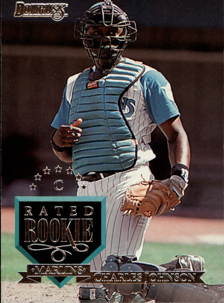 1995 Donruss #27 Charles Johnson