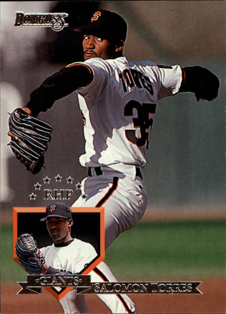 1995 Donruss #30 Salomon Torres