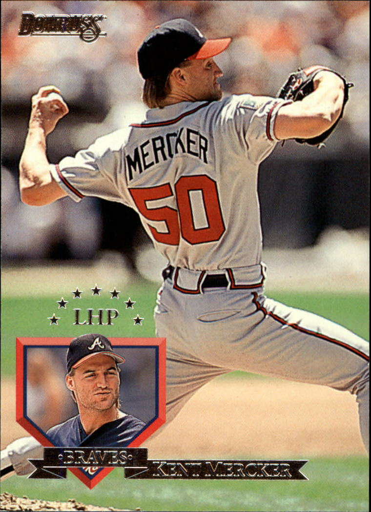 1995 Donruss #54 Kent Mercker