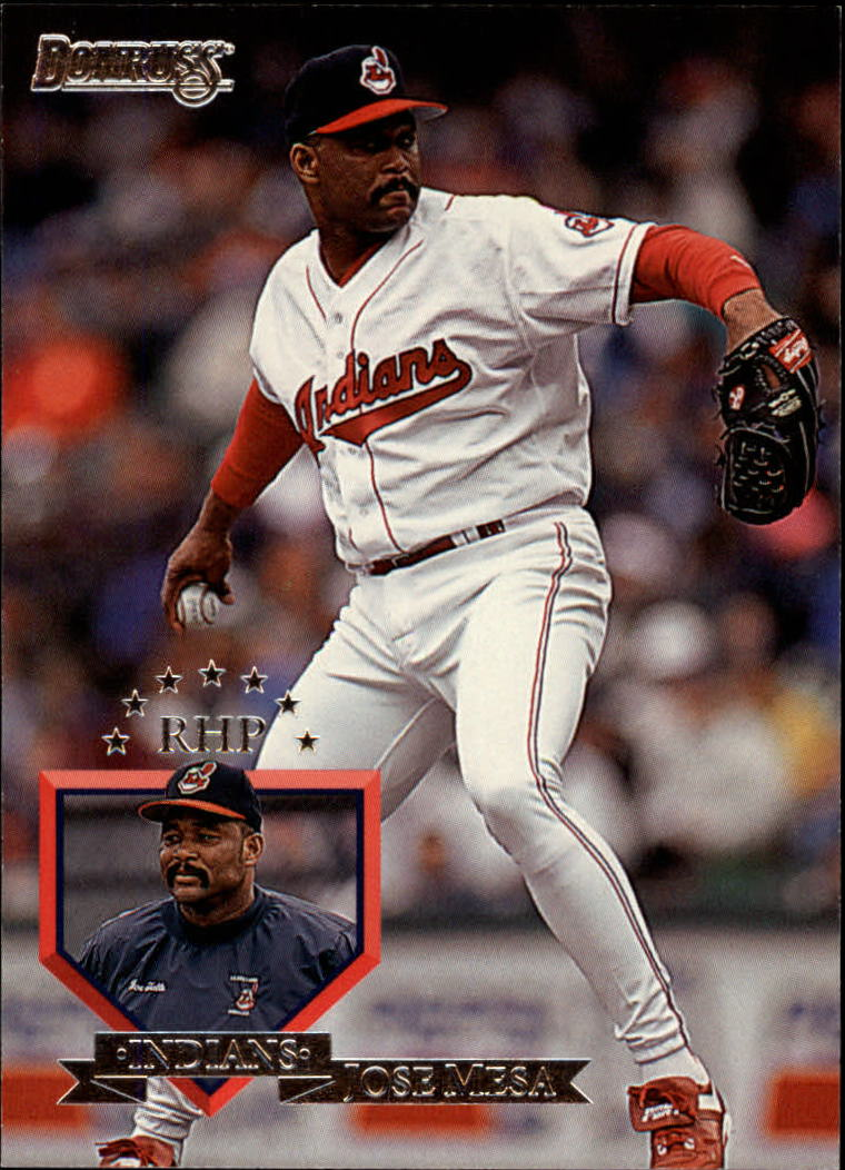 1995 Donruss #58 Jose Mesa