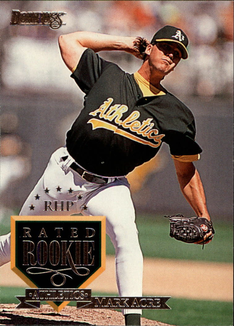 1995 Donruss #76 Mark Acre