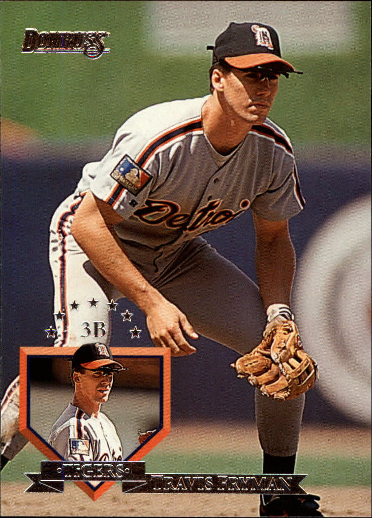 1995 Donruss #82 Travis Fryman