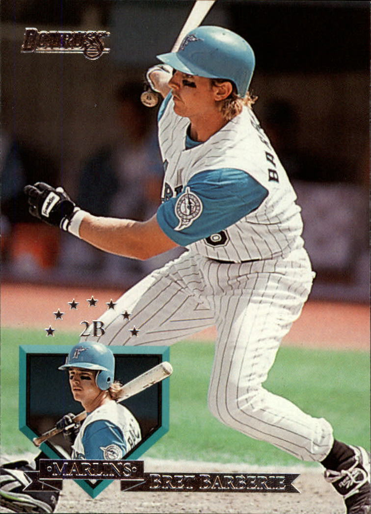 1995 Donruss #85 Bret Barberie