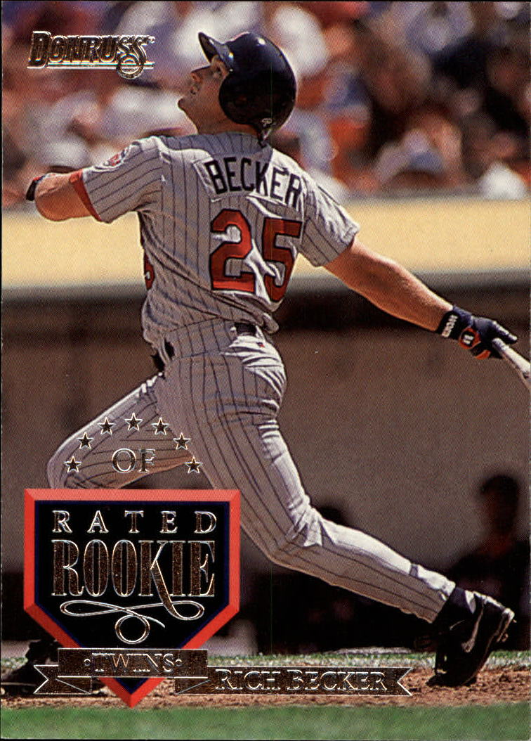 1995 Donruss #88 Rich Becker