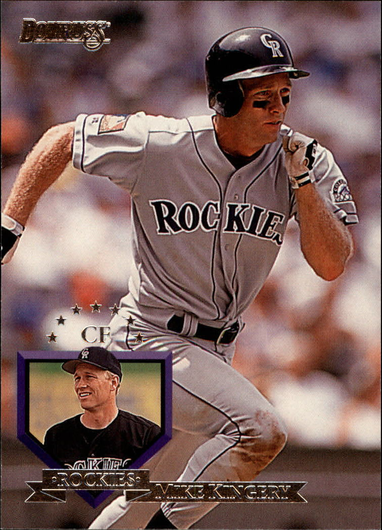 1995 Donruss #96 Mike Kingery