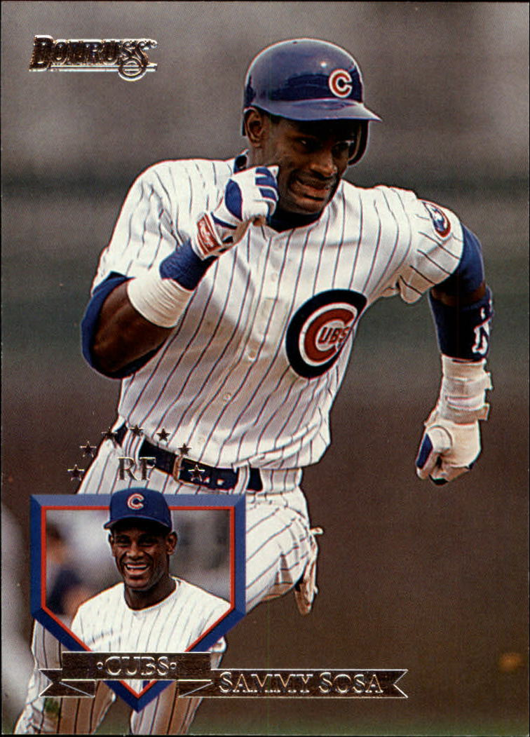 1995 Donruss #122 Sammy Sosa