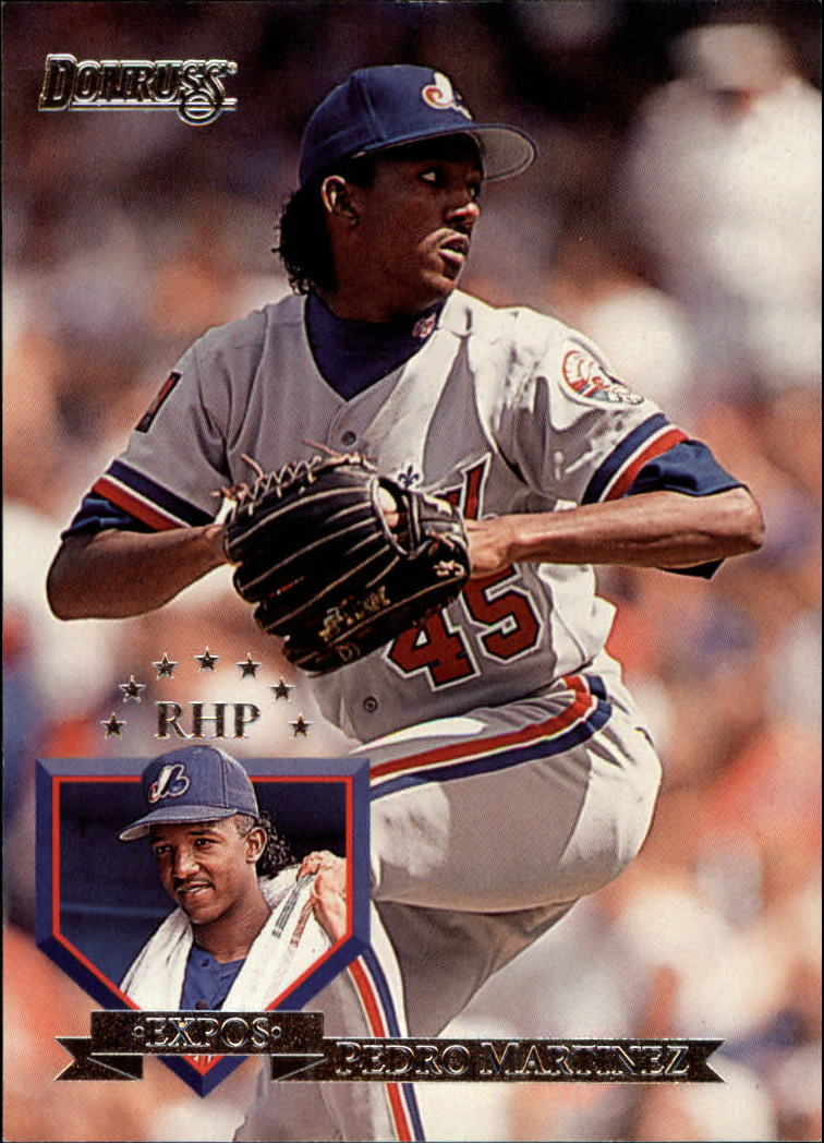 1995 Donruss #315 Pedro Martinez