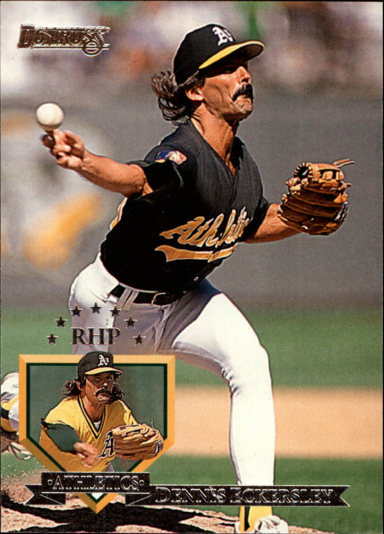 1995 Donruss #511 Dennis Eckersley