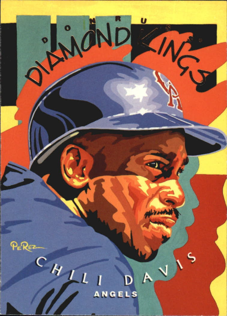 1995 Donruss Diamond Kings #DK3 Chili Davis
