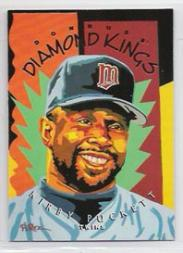 1995 Donruss Diamond Kings #DK19 Kirby Puckett