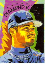1995 Donruss Diamond Kings #DK27 Ken Griffey Jr.