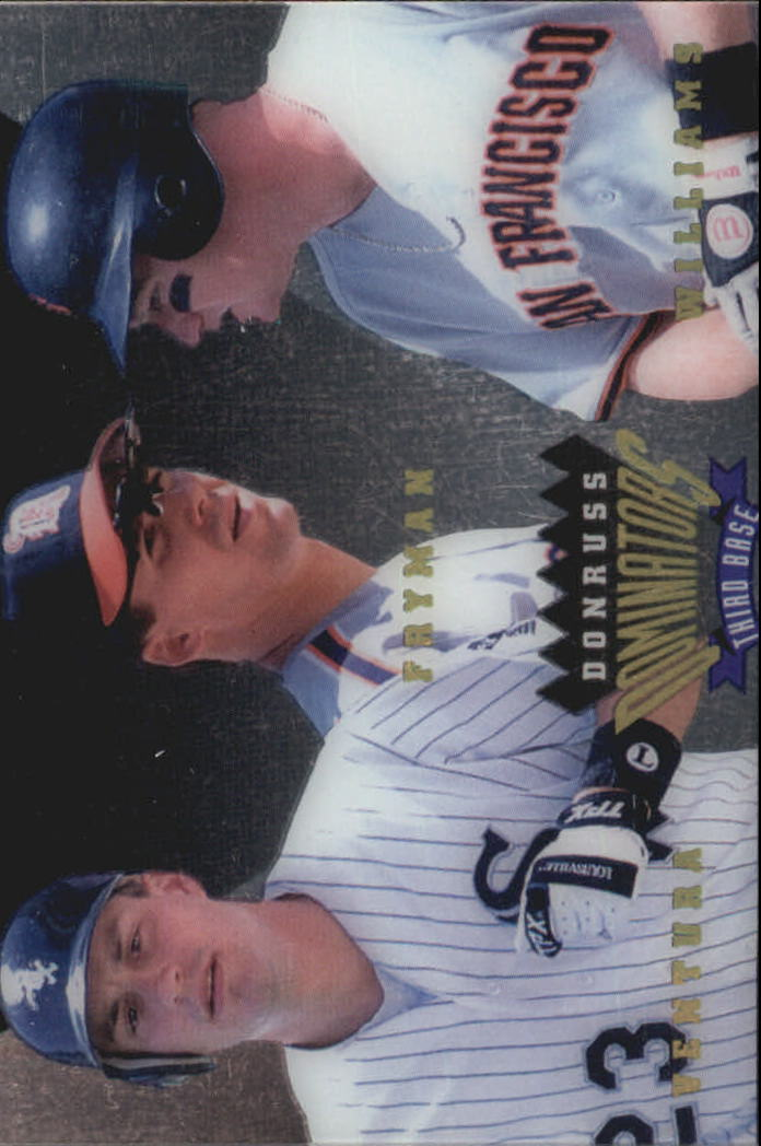 1995 Donruss Dominators #5 Ventura/Fryman/Williams