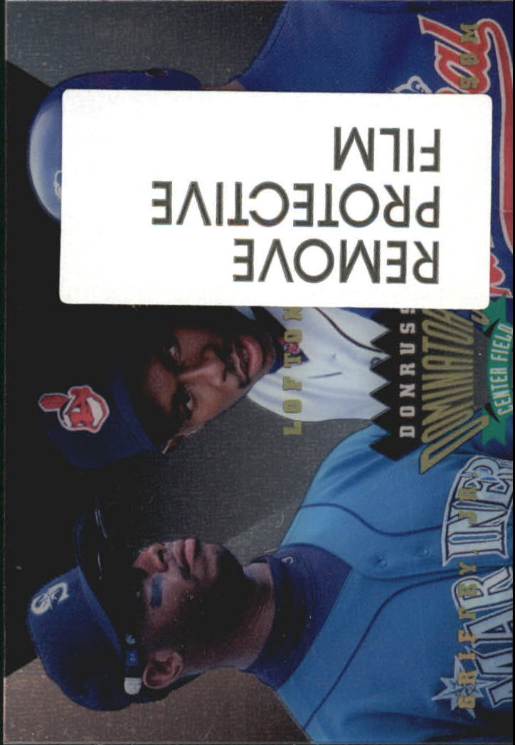1995 Donruss Dominators #8 Griffey/Lofton/Grissom