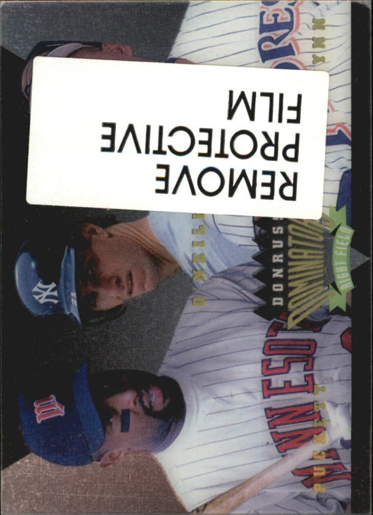 1995 Donruss Dominators #9 Gwynn/Puckett/O'Neill