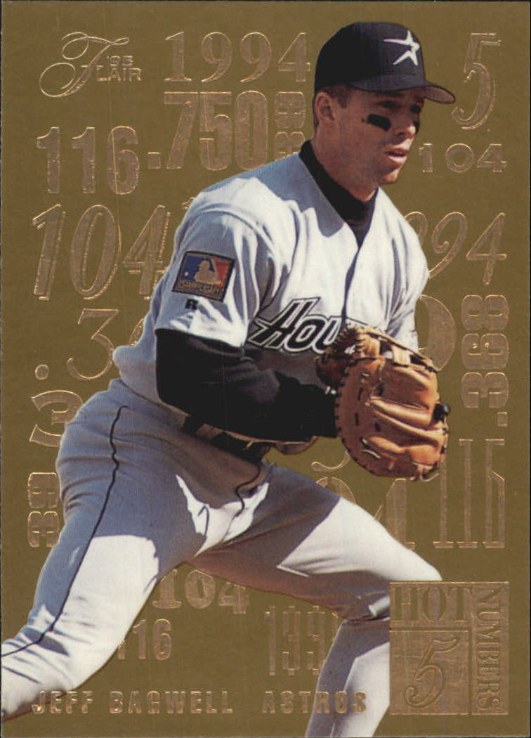 1995 Flair Hot Numbers #1 Jeff Bagwell