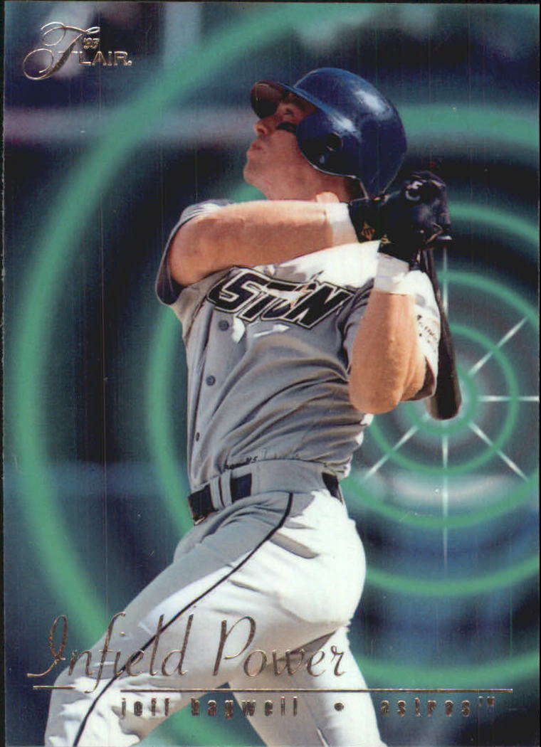 1995 Flair Infield Power #1 Jeff Bagwell