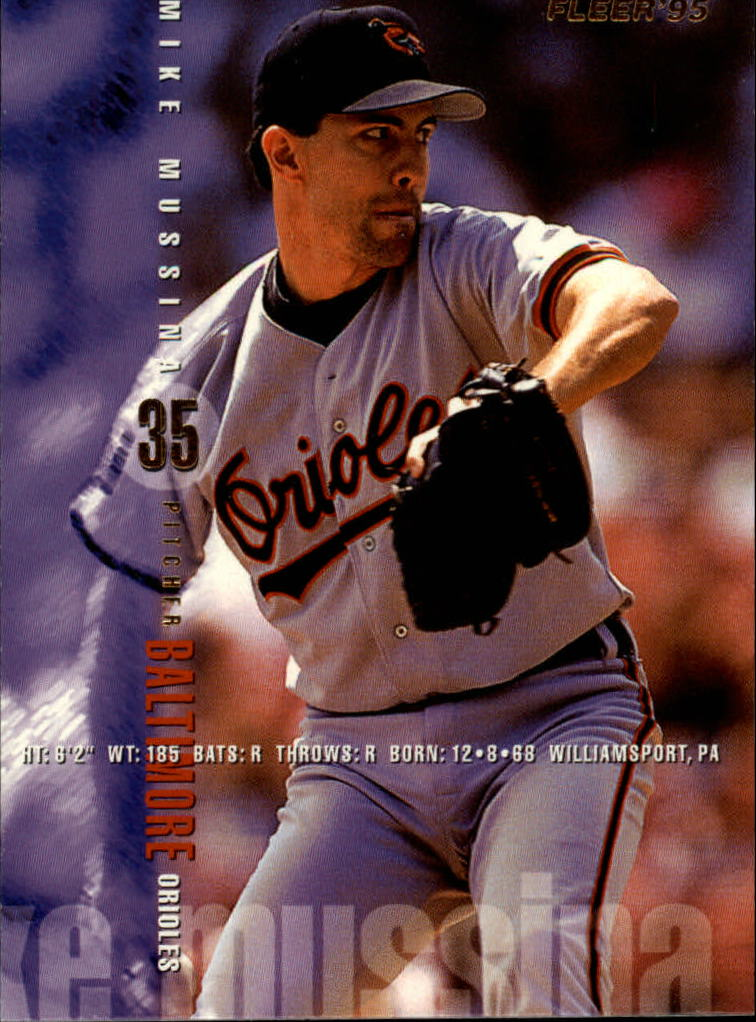 1995 Fleer #15 Mike Mussina