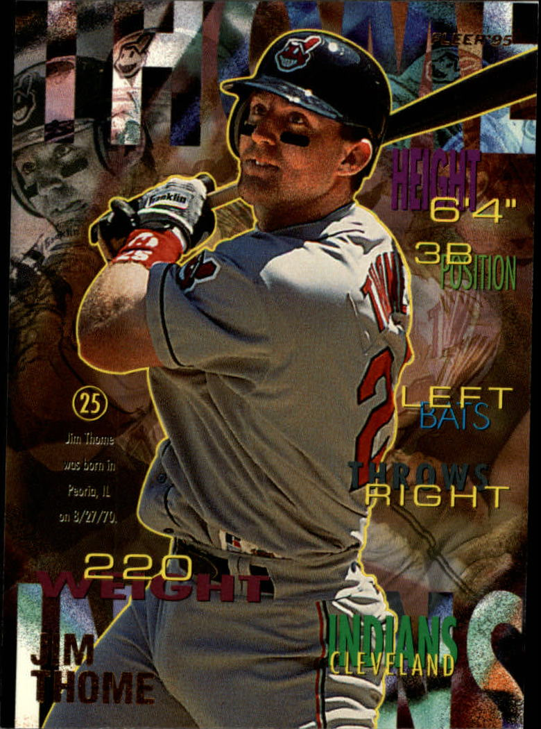 1995 Fleer #149 Jim Thome