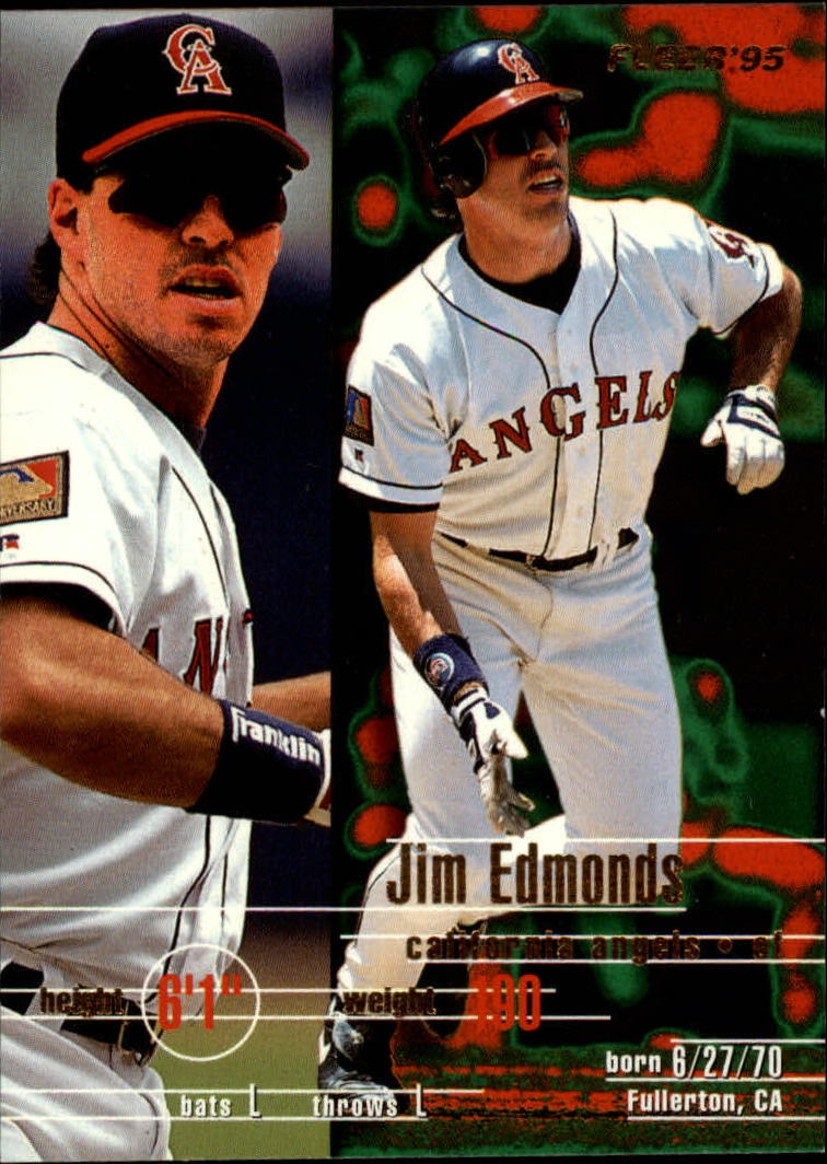 1995 Fleer #223 Jim Edmonds