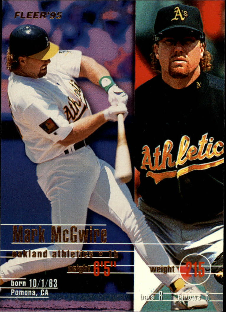 1995 Fleer #249 Mark McGwire